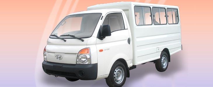 Buy Hyundai H100 Shuttle Passenger Van Bodies