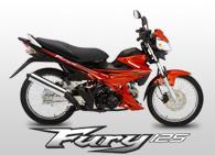 Kawasaki Fury 125 Motorcycle Buy In