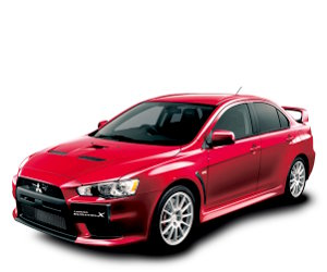 Buy Mitsubishi Lancer Evolution X GSR car