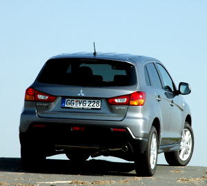 Buy Mitsubishi ASX 1800 DiD 4WD AS&G car