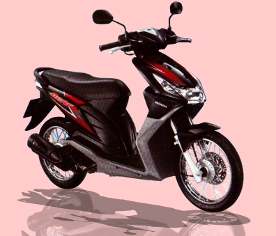 Buy Honda Beat Spoke Wheel scooter