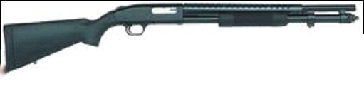 Mossberg M590 W/ HS Blued gun