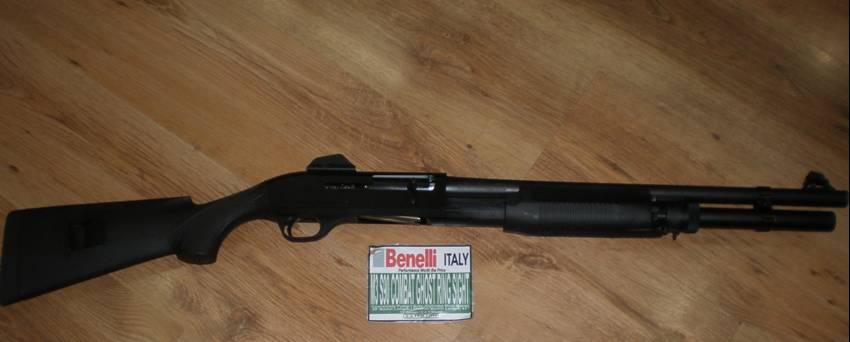 Benelli M3 S90 gun