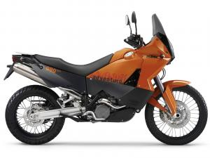 Buy KTM 990 Adventure Orange ABS motorcycle