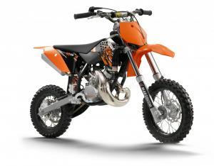 KTM 50 SX motorcycle