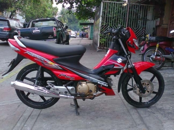 Suzuki Raider J Pro 110 scooter buy in Tacloban
