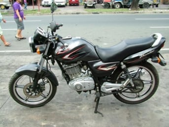 Suzuki Thunder 125 motorcycle