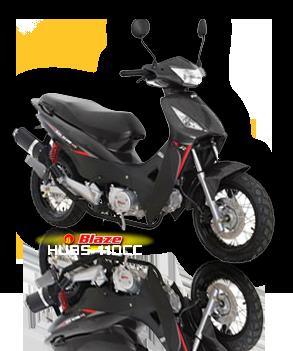 Blaze Hubs 110cc motorcycle