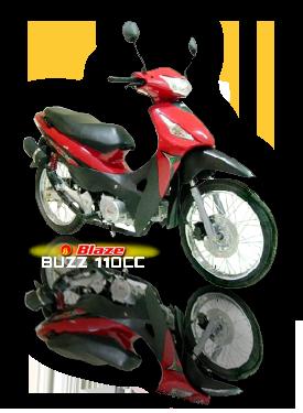 Blaze Buzz 110cc motorcycle