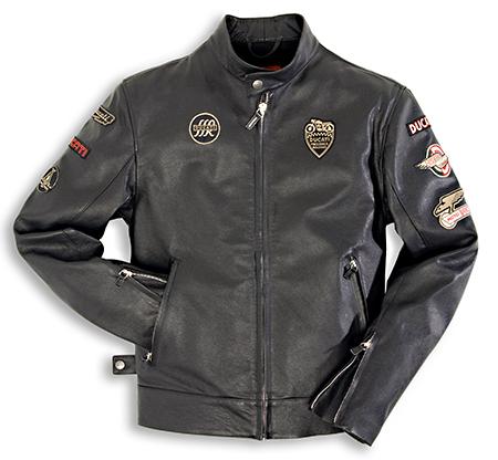 Buy Ducati Historical Men's Leather Jacket