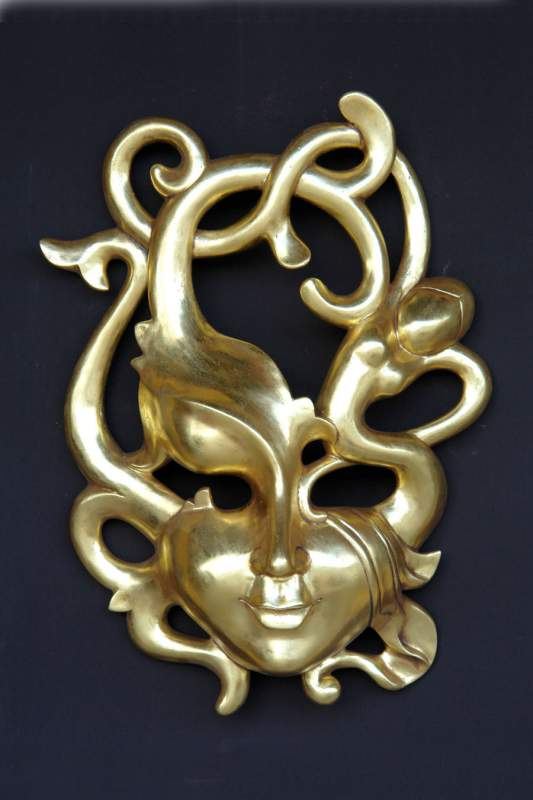 Erotic Mask Gold