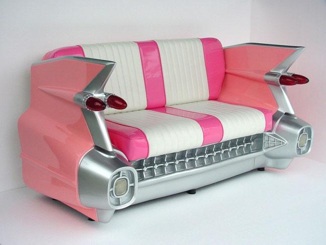 C-Car Sofa Pink