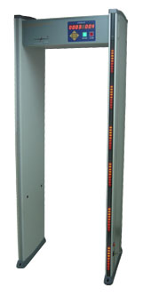 Whitman Walk-Thru Metal Detector Six-Zone Scanner