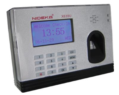 Nideka X639 Fingerprint Time Recorder (Network)
