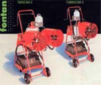 Fontan Turbostar-E and Fontan Twinstar-E cold fogging machines