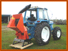 "Buy New 8"" PTO Driven wood, brush and mixed waste Chipper / Shredder"