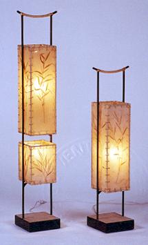 Dwarf bamboo floor lamp buy in Cebu