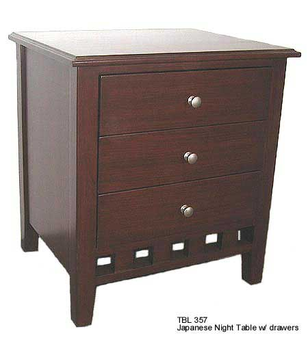Buy TBL 357 with 3 drawers