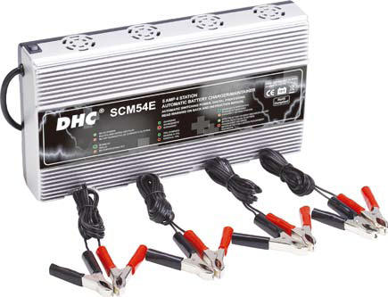 Buy SCM54E - 4 Station Switching Power, 5Amp / 12V Battery Bus Charger / Maintainer