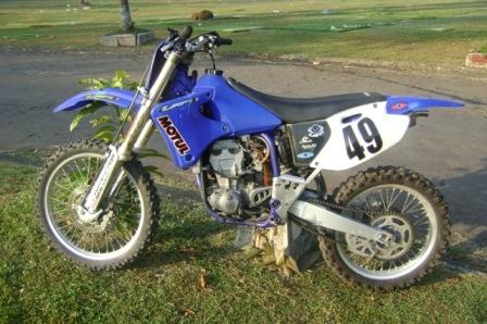 Buy Yamaha YZ426 2002 motorcycle