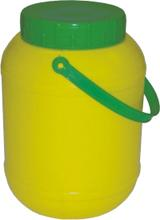 Buy Containers Round Shaped Gallon with Handle
