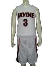 Buy IRVINE Form Fit Custom Basketball Uniform