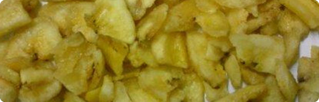 Buy Sweetened Broken Banana Chips