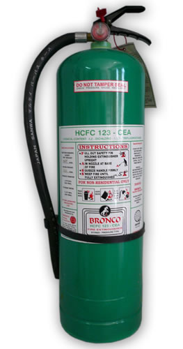 Bronco HCFC 123-CEA Fire Extinguishers