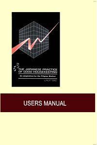 Buy 5S The Japanese Practice Of Good Housekeeping book