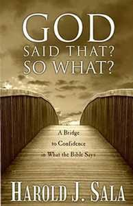 Buy God Said That? So What? books