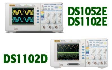 Buy DS1000E/D Series Digital Oscilloscopes