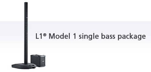 Buy L1® Model I single bass package