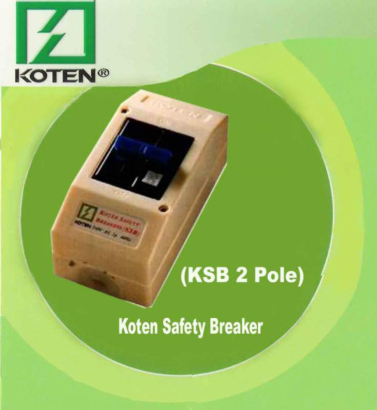 Buy KSB 2 Pole (Koten Safety Breaker)
