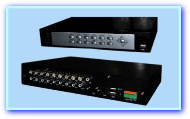 IE1B-DVR400 Recorders