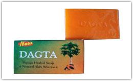 Buy Dagta Papaya Skin Whitening Herbal Soap