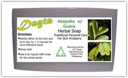 Buy Dagta Akapulko-Guava Herbal Soap