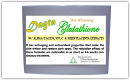 Buy Dagta Skin Whitening Glutathione Soap with Alpha-T Acids, Vit. C and Sheep Placenta Extracts