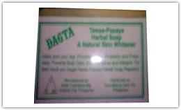 Buy Dagta Tawas-Papaya Herbal Skin Whitening Soap