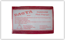 Buy Dagta Squalene Plus Papaya Soap