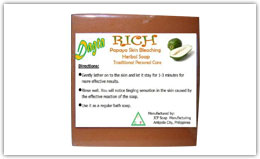 Buy Dagta Rich Katas ng Papaya Skin Bleaching Herbal Soap