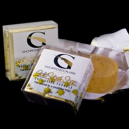 Buy Gorgeousi Gold Youth Soap