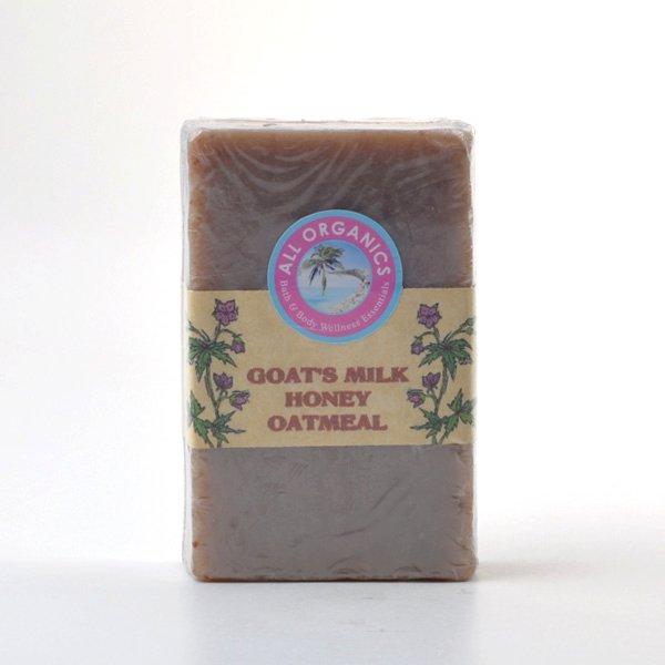 Buy Goat's Milk Honey Oatmeal Soap