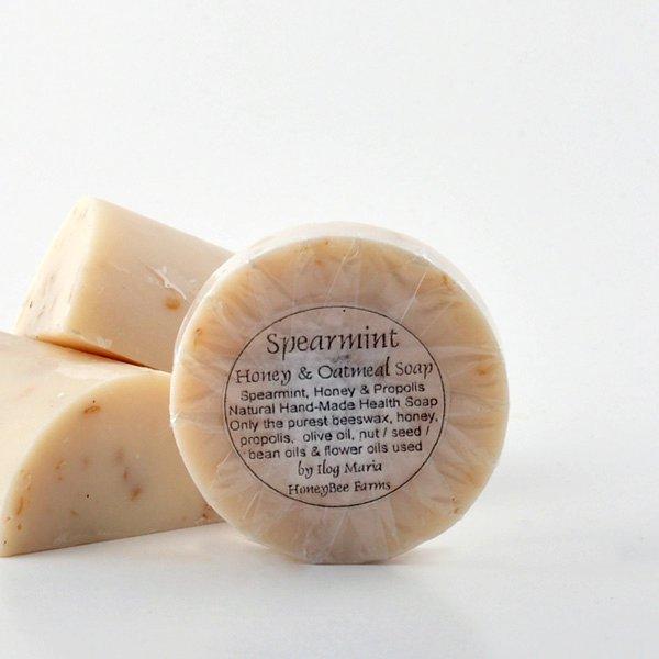 Buy Spearmint & Oatmeal Soap
