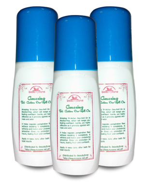 Buy 50ml Amazing Tri-Action Whitening & Anti-Perspirant Deo-Roll On