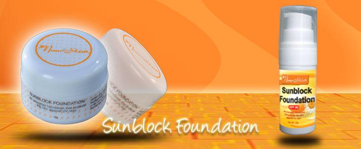 Buy Sunblock Foundation cosmetic series