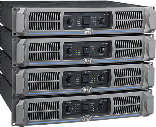 Buy US-Series Professional Power Amplifiers