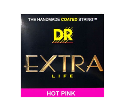 Buy Extra-Life Hot Pink Guitar Strings