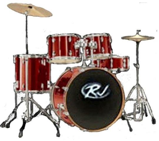 RJ Drumset Wine Red