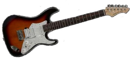 Aria 714 Std Vw Electric Guitar