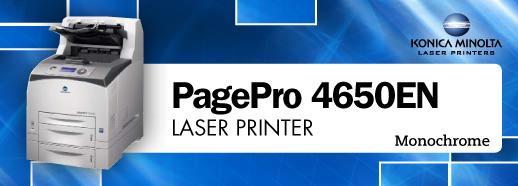 KONICA MINOLTA PAGEPRO 4650EN PRINTER PCL X64 DRIVER DOWNLOAD